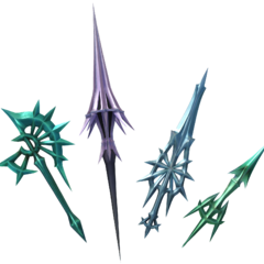 Ultimecia's Looking Glass weapons.