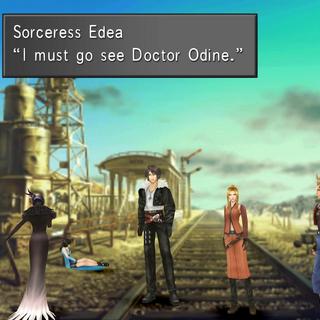 Edea explains her plan.