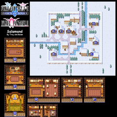 Salamand's Map (PSP).
