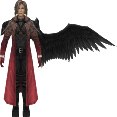 Degrading model in <i>Crisis Core -Final Fantasy VII-</i>.
