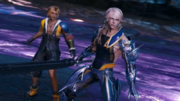 Tidus and Wol from Mobius FF