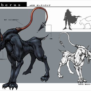 Artwork from <i>Dirge of Cerberus</i> and <i>Crisis Core</i>  by <a href=