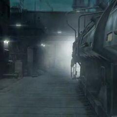 Поезд в <i>Crisis Core -Final Fantasy VII-</i>.