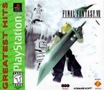 FFVII Greatest Hits US Cover