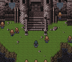 FFVI SNES Siege of Doma