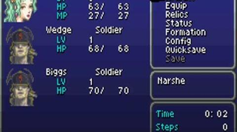 Final Fantasy VI Advance Glitch Resetting Character Levels