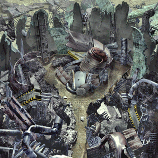 Ruined reactor in Gongaga.