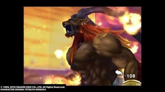 "Ifrit ""Hellfire"" from FINAL FANTASY VIII Remastered"