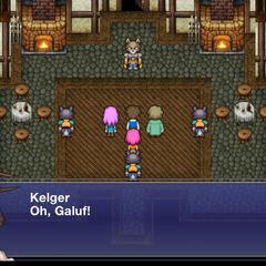 Casa do Kelger em Quelb.