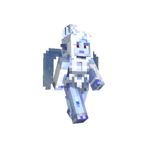 <i>Minecraft</i> skin as Shiva.