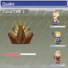Quake in battle in <i><a href=