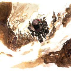 Терра в Бронекостюме Магитек, направляющаяся в Нарше (рисунок <a href=
