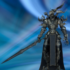 Тайновидец со своим мечом.