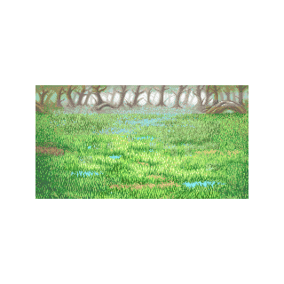 Swamp background.