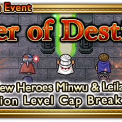 Global event banner for Seer of Destiny.