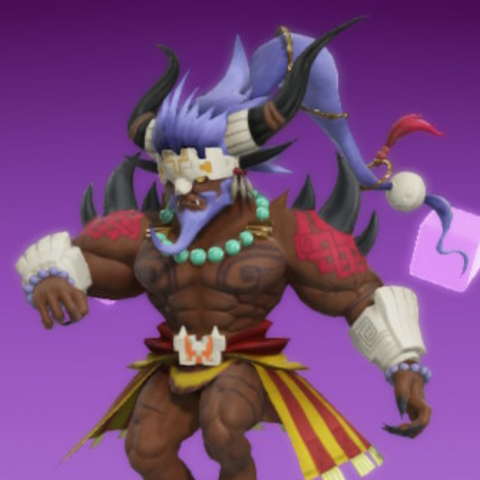 Maduin as he appears in-game.