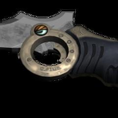 Нож для выживания Лайтнинг, подарок Сэры на ее день рождения.