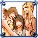 DFFNT Player Icon Rinoa Heartilly Selphie Tilmitt Quistis Trepe VIII 001