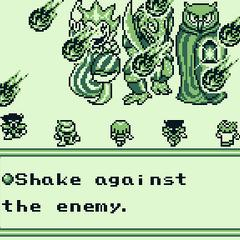 Артур накладывает заклинание Shake в <i><a class=