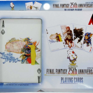 25th Anniversary Playing Cards.