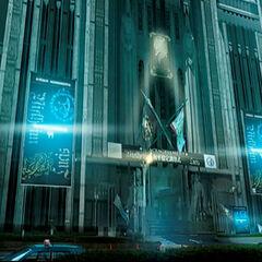 Концепт-арт для <i>Final Fantasy XV</i>.