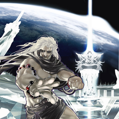 Golbez featured on the cover of the Moon Chapter.