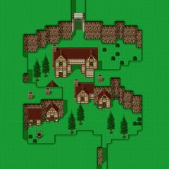 Mapa de Quelb (SNES).