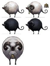 Sheep FFXIV Art