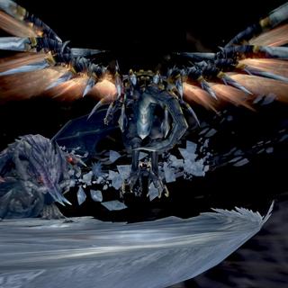 Бахамут ЗЕРО в <i>Final Fantasy Type-0</i>.