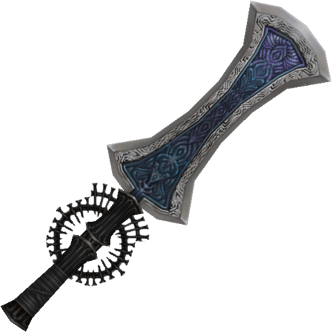 Bluesang's sword.