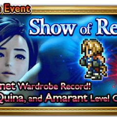 Global event banner for Show of Resolve.
