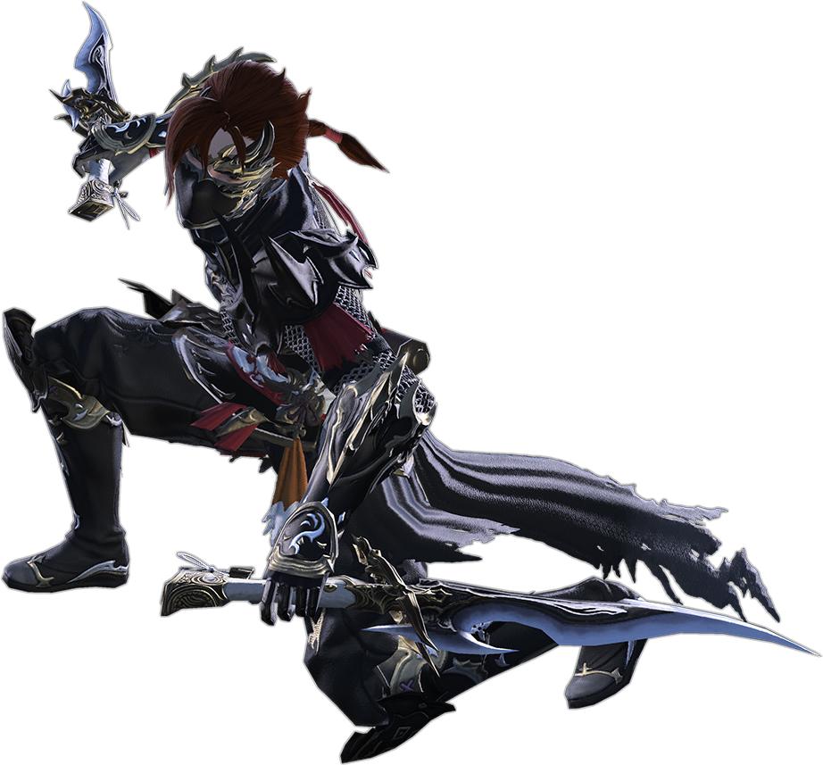 image ffxiv stormblood ninja png final fantasy wiki fandom