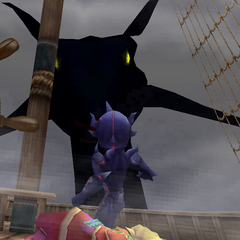 Leviathan attacking the ship (DS/iOS).