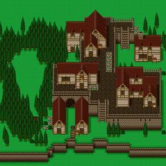 Mapa da Vila Fantasma(SNES).