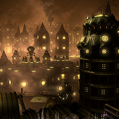 A goblin city within the Midas sector