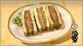 Сэндвич со шницелем для автомехаников