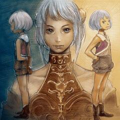 Arte de Arciela jovem.