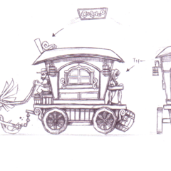Chocobo cart.