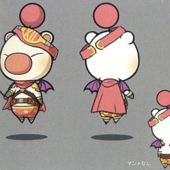 Class Seventh moogle artwork.