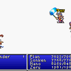 Mythril Mace in <i>Final Fantasy II</i> (GBA).