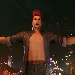 Джонни в <i>Final Fantasy VII Remake.</i>