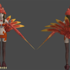 Chocolina's in-game render.