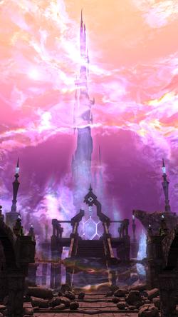 FFXIV Crystal Tower