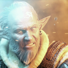 Louisoix CG Render in the <i>A Realm Reborn</i> trailer.