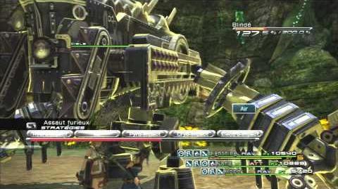 Final Fantasy XIII Combat contre Verdelet-0