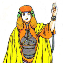 <i>Nintendo Power</i> artwork of Rydia by Katsuya Terada.
