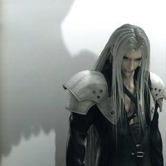 Sephiroth's CGI artwork for <i>Advent Children</i>.