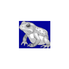 Frog portrait for Cecil, Rosa, and Kain in <i><a href=
