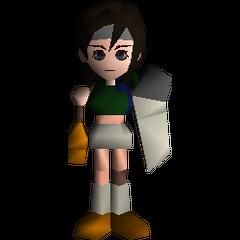 Полевая модель из <i>Final Fantasy VII</i>.