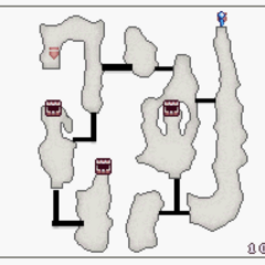 Map B3 with hidden passages (DS).